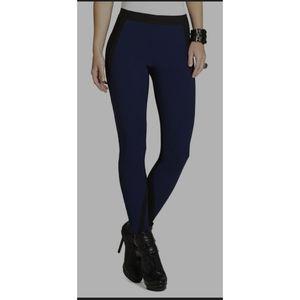 BCBG size XS oly color blocked leggings